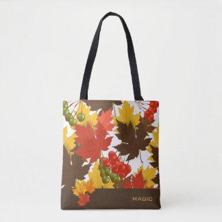 Magia del otoño bolsa de tela