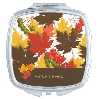Magia del otoño espejos maquillaje