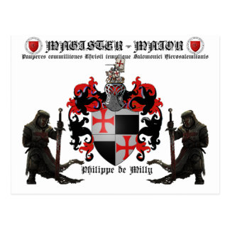 Magister Maior Nr. 07 tarjeta postal