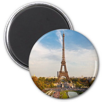 Magnet París - Torre Eiffel #8 Imán Redondo 5 Cm