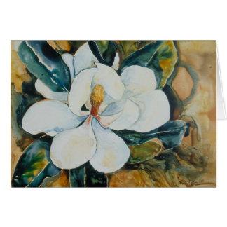 Magnolia 2 de Yupo Tarjeta De Felicitación