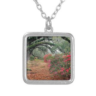 Magnolia Charleston de los robles de las azaleas d Pendientes Personalizados