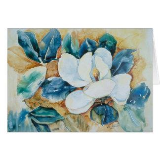 Magnolia de Yupo Tarjeta De Felicitación