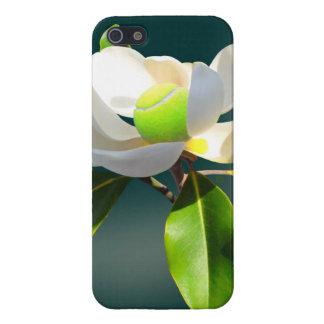 Magnolia del tenis iPhone 5 funda