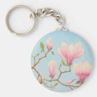 Magnolias en la floración, jardines de Wisley en Llavero