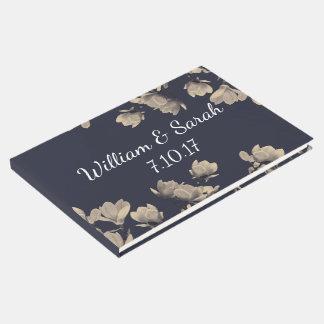 Magnolias meridionales y los nombres del par azul libro de invitados