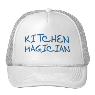 Mago de la cocina (edición azul) gorros