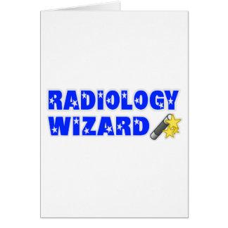 Mago de la radiología tarjetón