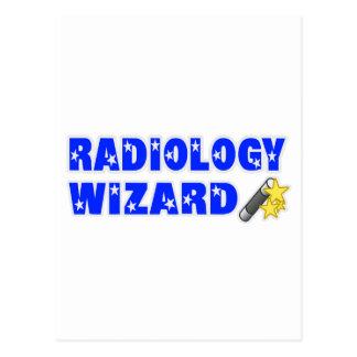 Mago de la radiología postales