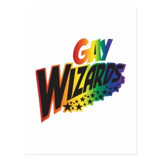 Magos gay postales