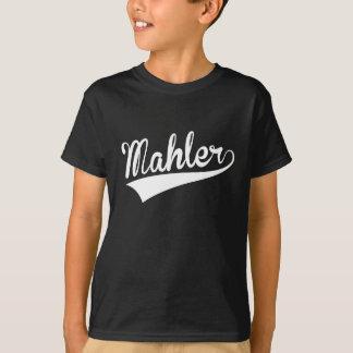 Mahler, retro, camiseta
