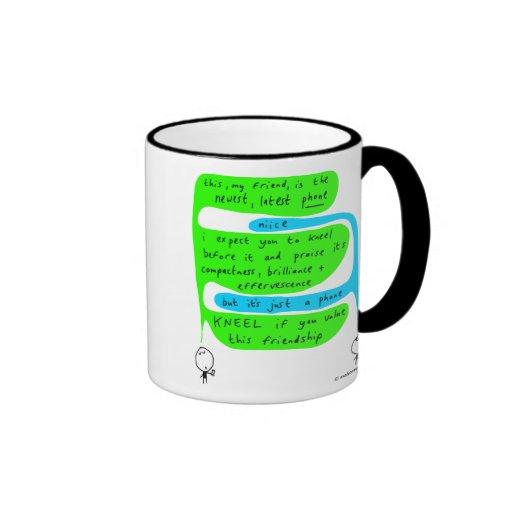 mahoney Joe - el teléfono más nuevo Tazas De Café
