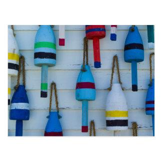 Maine, Stonington, boyas decorativas de la Postal