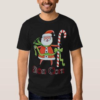 Maíz de Sion - navidad T del padre Galés Camisetas