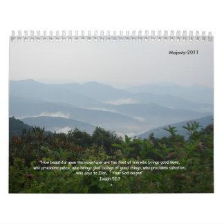 Majesty-2011 Calendarios