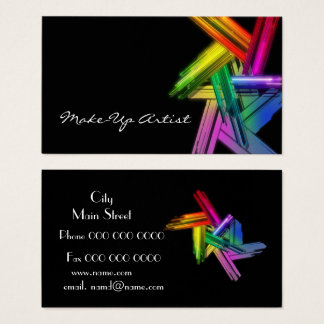 make_up_business tarjeta de visita