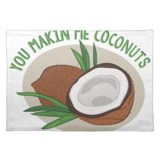 Makin yo cocos salvamanteles