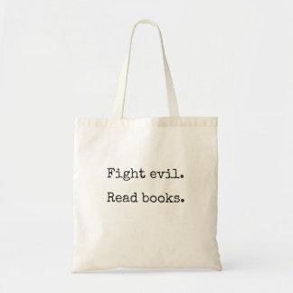 Mal de la lucha. Lea los libros.  La bolsa de asas