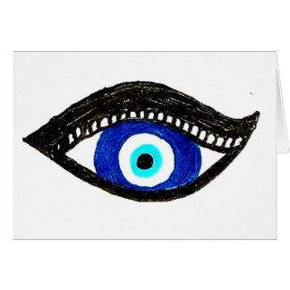 Mal de ojo tarjetón