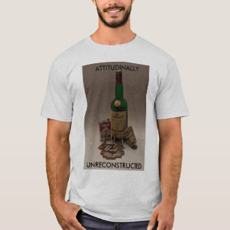 mala actitud camiseta