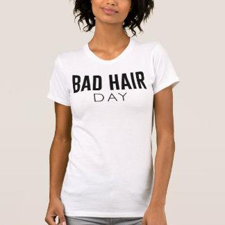 Mala camiseta Tumblr del día del pelo