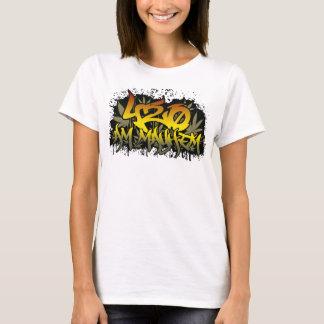 Mala hierba para mujer de 420am Rasta Camiseta