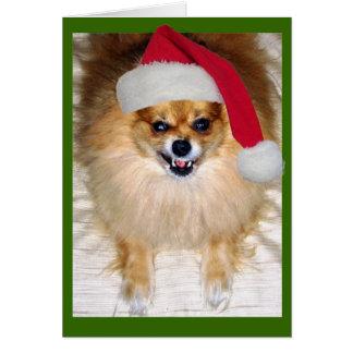 Mala tarjeta de Navidad de Santa