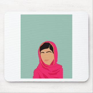Malala Yousafzai Alfombrilla De Ratón