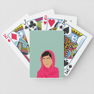 Malala Yousafzai Baraja De Cartas Bicycle