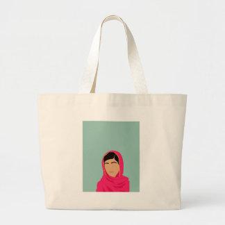 Malala Yousafzai Bolsa De Tela Grande