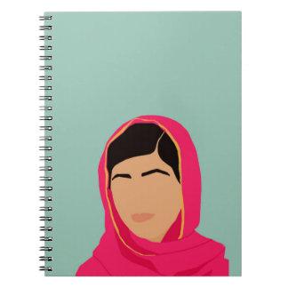 Malala Yousafzai Cuaderno