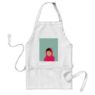 Malala Yousafzai Delantal