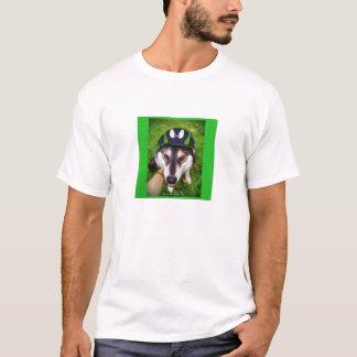 Malamute/casquillo del estilo del béisbol de la camiseta