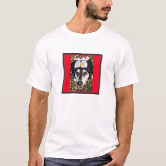 Malamute/casquillo fornido del estilo del béisbol camiseta
