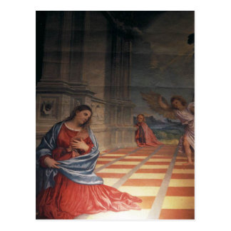 """Malchiostro Annunciation Postal"