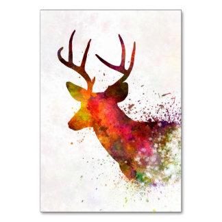Male Deer 02 in watercolor