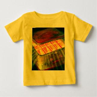 Maleta por completo de dinero camiseta de bebé