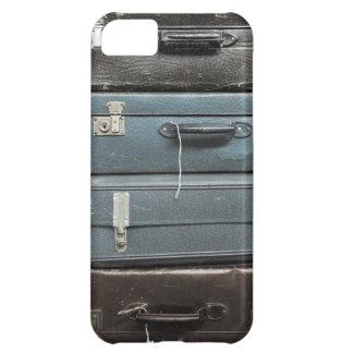 Maletas del vintage funda para iPhone 5C