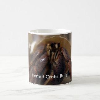 ¡malhumorado, regla de los cangrejos de ermitaño! taza de café
