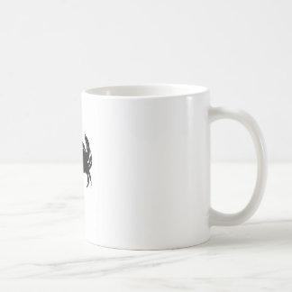 malhumorado taza de café