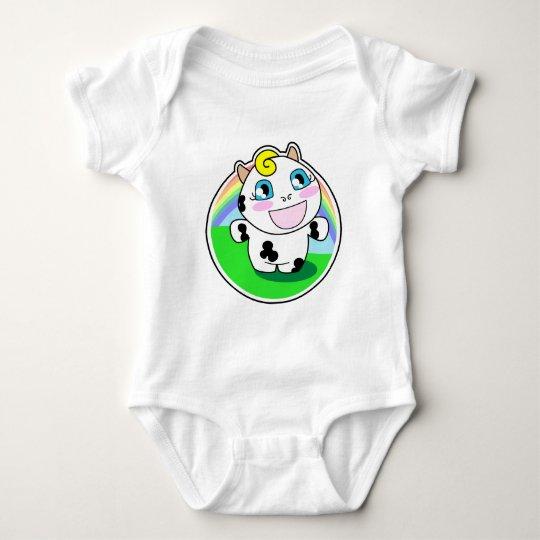Malina y el arco iris body para bebé