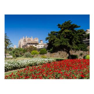 Mallorca - catedral de la postal de Palma