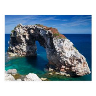 Mallorca - postal de la roca del Es Pontas