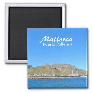 Mallorca, Puerto Pollensa - imán