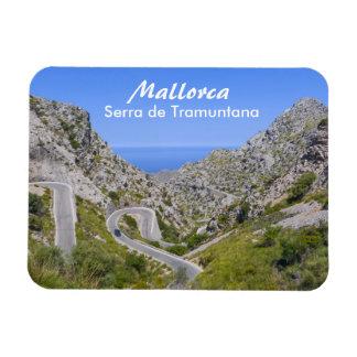 Mallorca Serra de Tramuntana Souvenir Imán Flexible