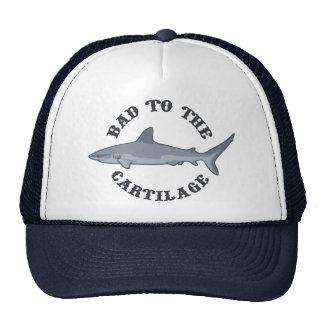 Malo al cartílago gorras