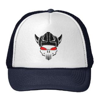 malo al diseño del gorra del casco de vikingo del