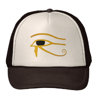 malo al ojo egipcio del hueso de la camisa del gorro de camionero