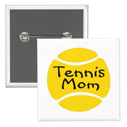 Mamá 2 del tenis pin