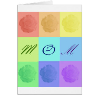 Mamá 3 tarjeta
